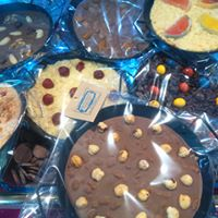 Paellas de chocolate