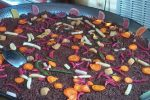 Paellas de chocolate grandes