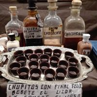 chupitos de chocolate