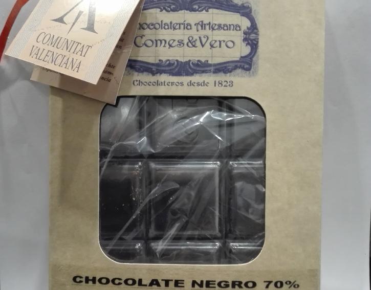 tableta de chocolate puro